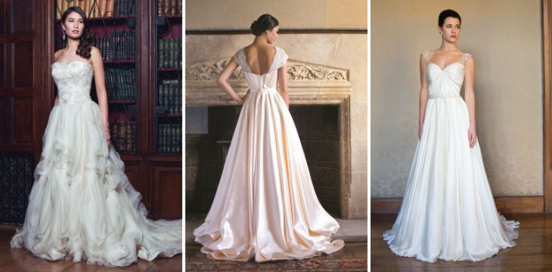 Почему невесты выбирают платья ампир?