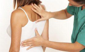 Симптомы заболевания в грудном отделе