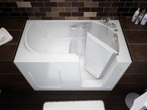 формы ванной сидячая