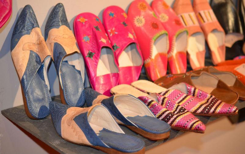 Бабуши этническая обувь