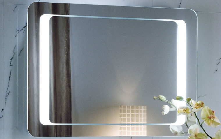 Подсветка в зеркале