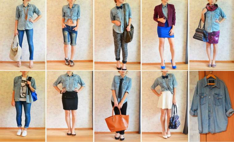 Идеи для джинсовой рубашки