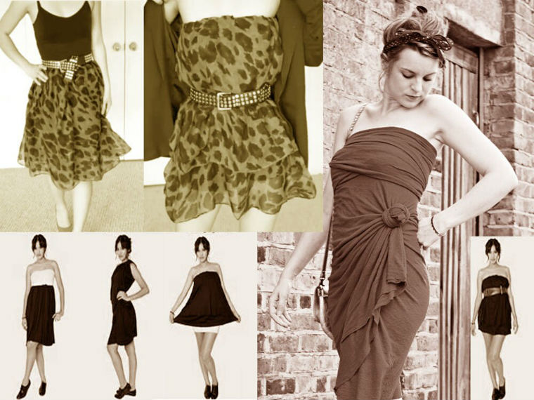 Снуд юбка платье