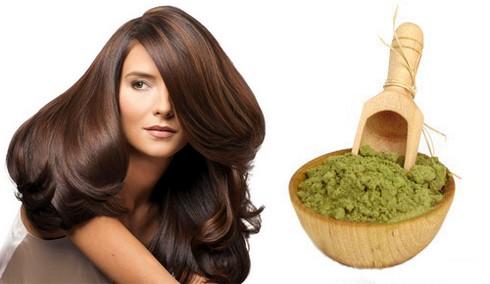 хна - дешевый метод окраски волос