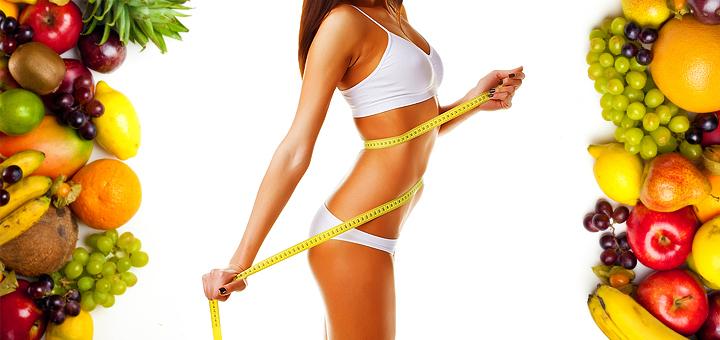 здоровое питание и красивое подтянутое тело