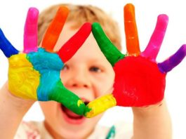 Цветовое восприятие малышей